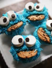 how to decorate cookie monster cupcakes kitchen
