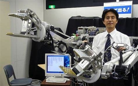 design engineer jobs japan robotic exoskeleton arms boing boing