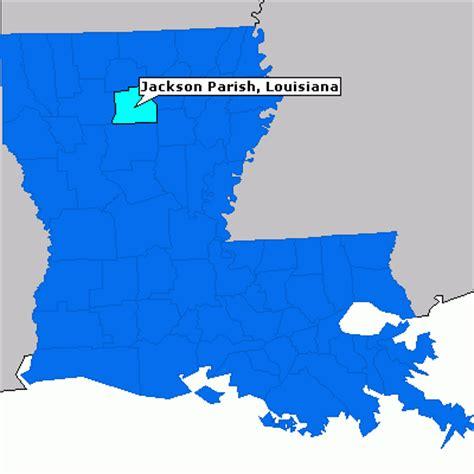 jackson louisiana map jackson parish louisiana county information epodunk