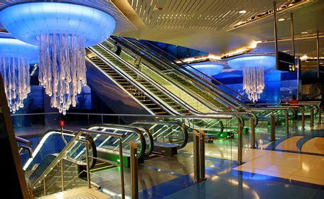 world s most beautiful metro stations business insider dubai metro station among world s most beautiful