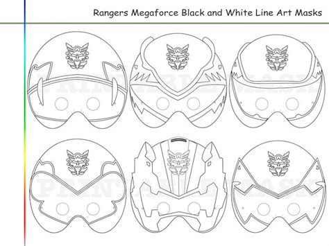 power rangers mask coloring pages coloring pages 6 rangers megaforce party holidaypartystar