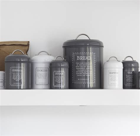 Food canisters by riverdale tutti decor ltd