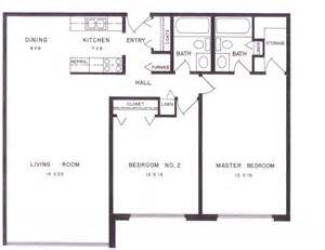 two bedroom two bath apartment floor plans 9 2 bedroom luxury apartment floor plans hobbylobbys info