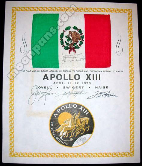 design brief apollo 13 apollo 13 flown mexico flag