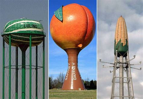 Roadside grazing | 10 water towers that look good enough ... W Is For Watermelon