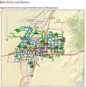 Bike Map Bike Maps Bikeabq