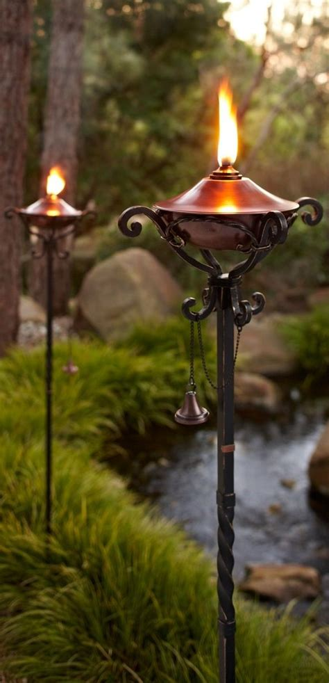 backyard torches lanterns 25 best ideas about garden accessories on pinterest garden water features vortex