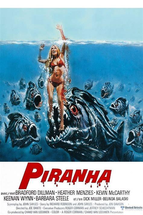 Poster Piranha 2 30x40cm joe dante misan trope y