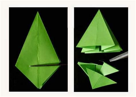 How To Make A 3d Origami Tree - origami tree 3d paper origami guide