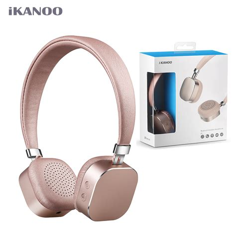 Headphone Xiomi ikanoo bluetooth 4 0 headphones fashion wireless