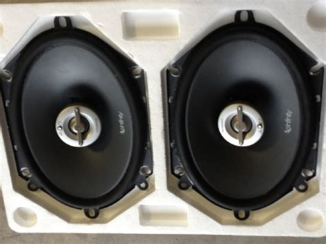 infinity reference 8602cfx 6x8 door speakers ford f150