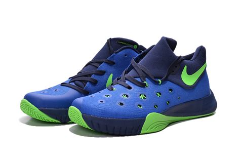 blue and green basketball shoes nike paul george 2016 blue green basketball shoes npg004