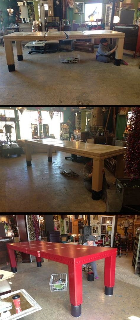 plain  dining room table   extremely large