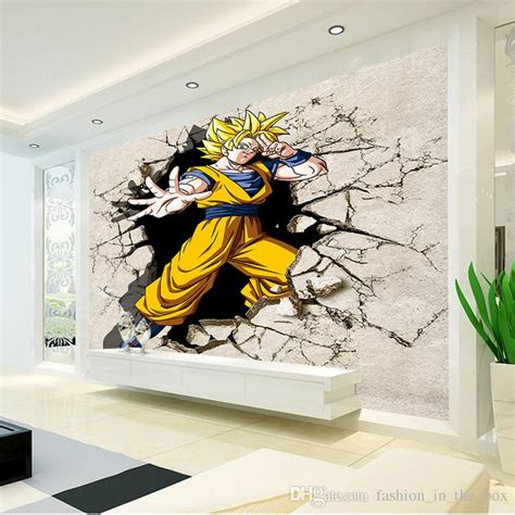 Paint By Numbers Wall Mural dragon ball photo wallpaper 3d anime wall mural custom