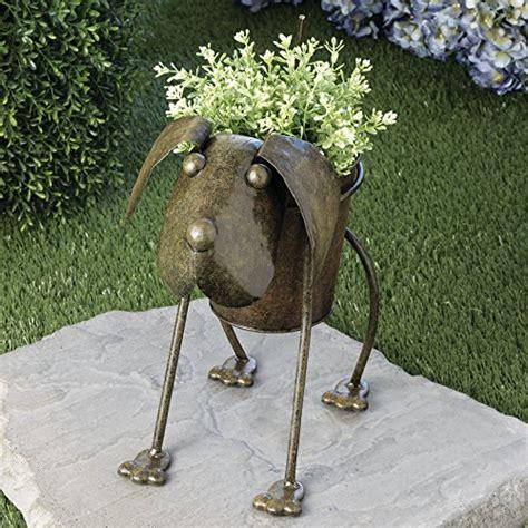 metal garden animals planters shopswell