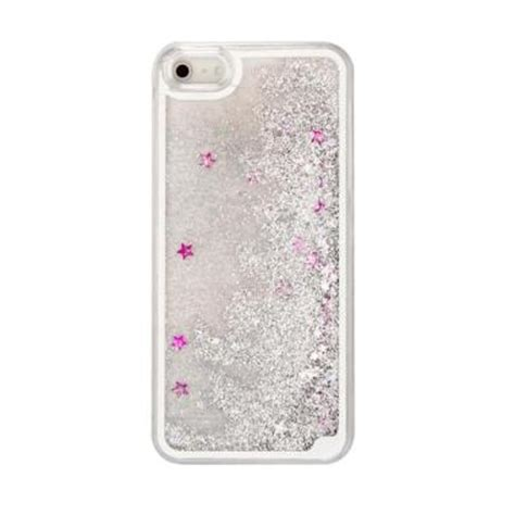 Softcase Iphone 5 Glitter Airsilikon Iphone 5 Glitter Air jual water glitter softcase aquarium casing for iphone 5 or iphone 5s silver rizuya acc