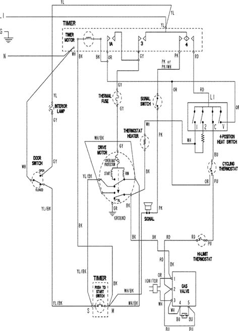 maytag ensignia dryer wiring diagram image collections