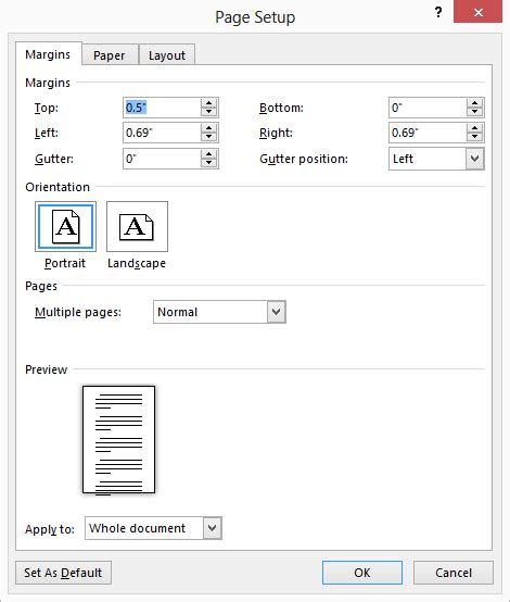 page layout gutter definition understanding the gutter margin microsoft word