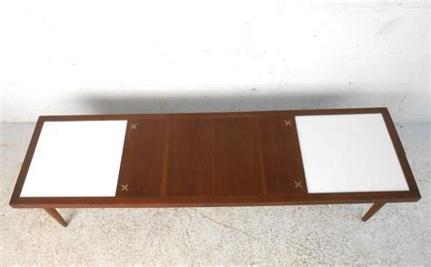 american of martinsville mid century modern coffee table