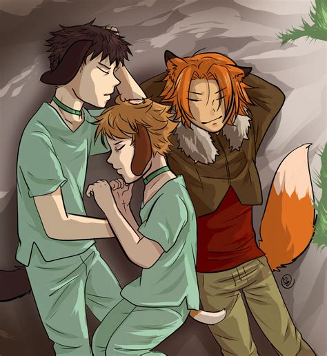 plaque dogs sleeping pups humanized the plague dogs by runtyiscute1999 on deviantart
