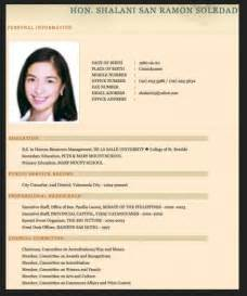 Resume Sample Format In The Philippines by Pics Photos Sample Resume For Fresh Graduate