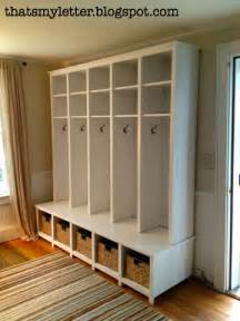 Mudroom Storage Units For Sale White Mudroom Locker And Bench Unit Diy Projects