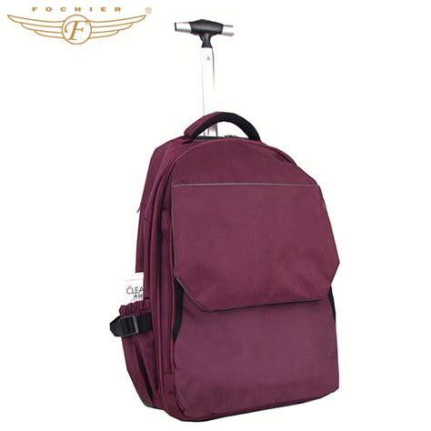 trolley laptop backpack rolling laptop bag