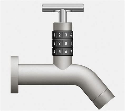 Outdoor Faucet Locks by Locko Outdoor Faucet Features Numerical Lock To Curb Water