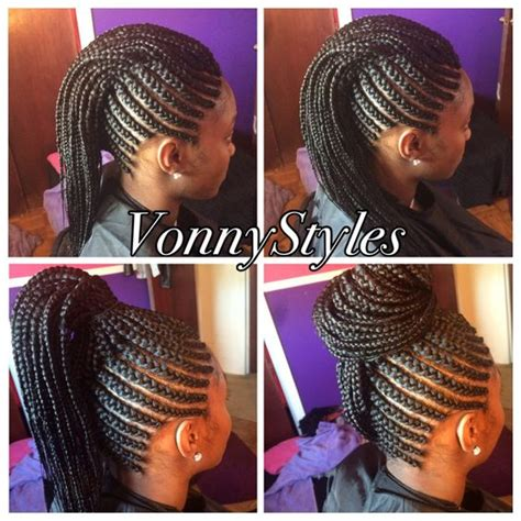 braided mohawk with senegalese twist versatile braided mohawk pull up at the top and twists