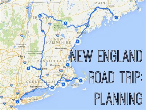printable road map of new england new england road trip emiliahearts