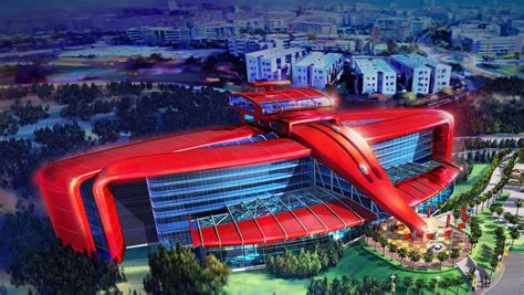 theme park near barcelona ferrari to build an amusement park in barcelona