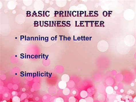 Kinds Of Business Letter According To Purpose Ppt ppt of quot basics of effective writing quot quot business letter