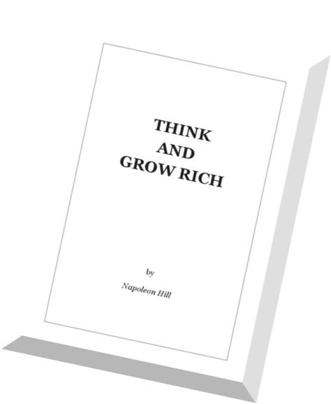think and grow rich by napoleon hill pdf download think and grow rich napoleon hill pdf magazine