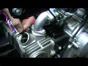 valve adjustment on a chinese quad youtube