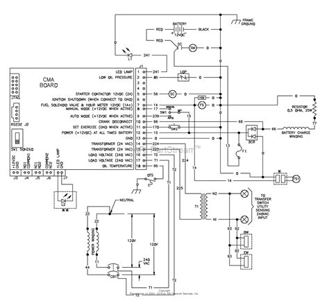 backup generator diagram wiring diagram with description