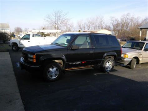 manual cars for sale 1993 gmc yukon navigation system purchase used 1995 gmc yukon slt gt sport utility 2 door 5 7l 4wd in valparaiso indiana united