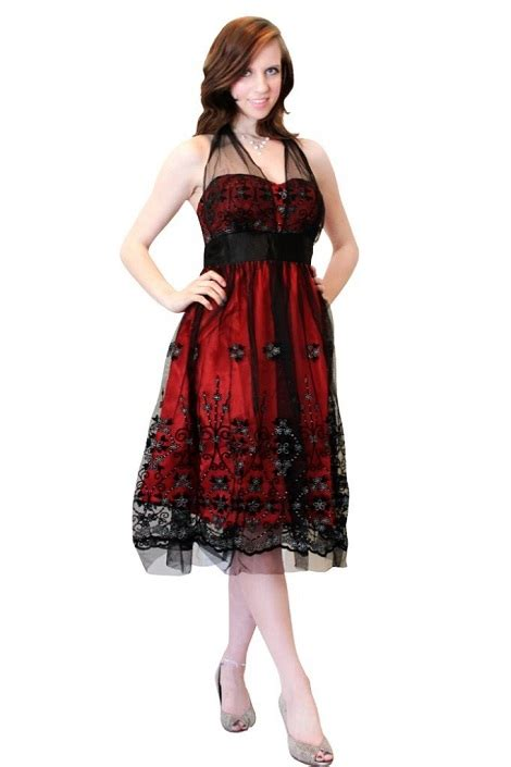 red and black cocktail dresses cheap formal dresses