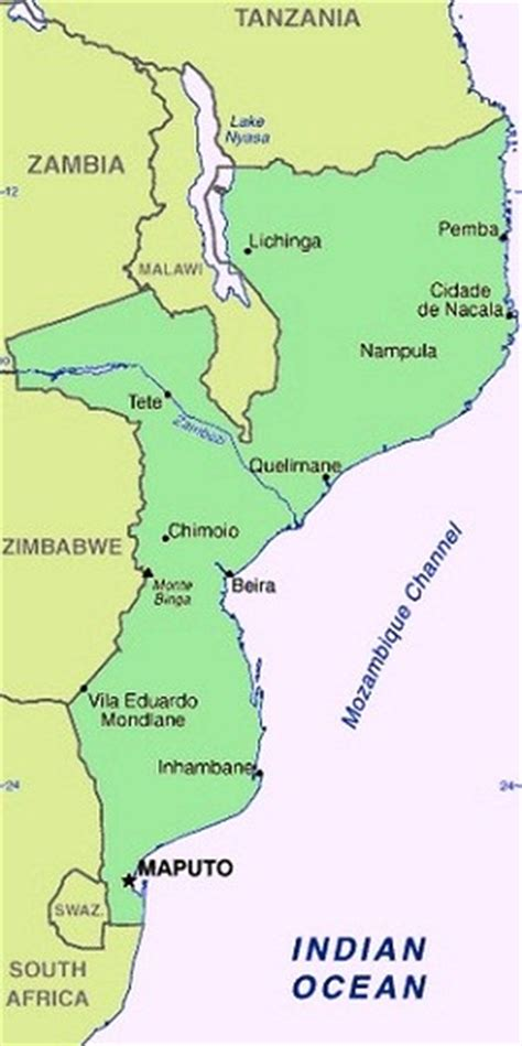 africa map mozambique mozambique the best countries in africa