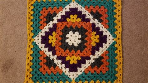 kaleidoscope pattern video kaleidoscope granny blanket crochet along pt 2 2 youtube