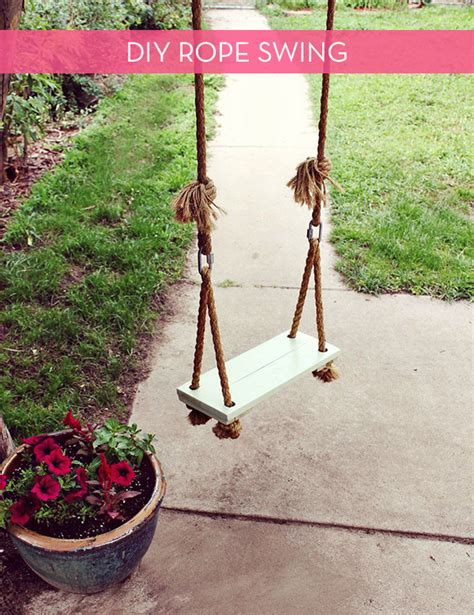 how to swing a rope 10 diy adorable tree swings