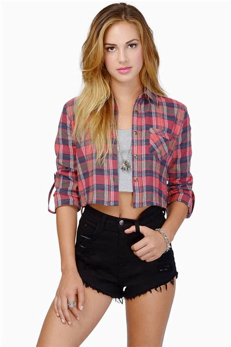 Anabel Top annabelle flannel top tobi