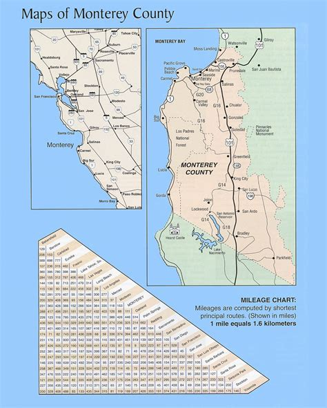 california map monterey county welcome to the stayinmonterey maps page