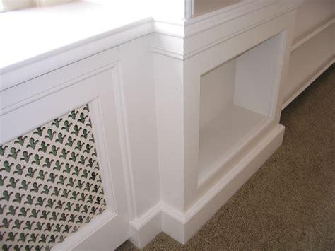 radiator panelen raamombouw met kastruimte