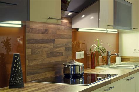 Kitchen Copper Backsplash by Spritzschutz Hinterm Herd Alternativen Zu Fliesen
