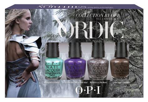 Skating On Thin Land Nln50 Opi opi nordic collection smalti per l inverno 2015