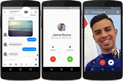 fb video call facebook messenger launches video calling phoneia