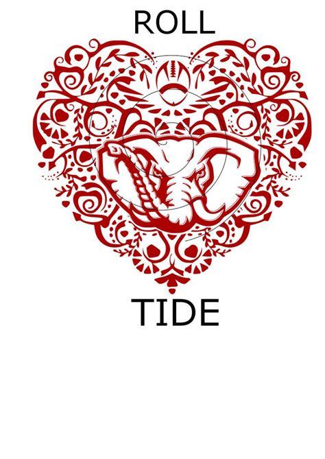 crimson tide tattoo designs 51 best ideas images on alabama crimson