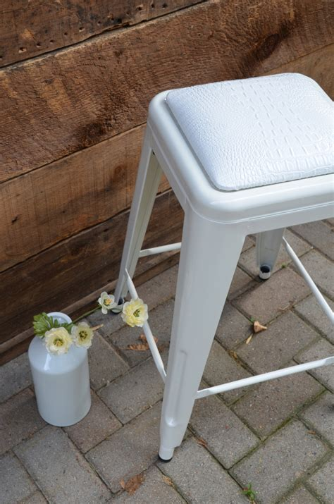 upholstered seat cushions custom upholstered seat cushion tolix style 24 counter