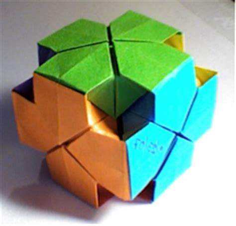 Origami Cube 6 Pieces - origami cube thingymajig by dragonm5394 on deviantart