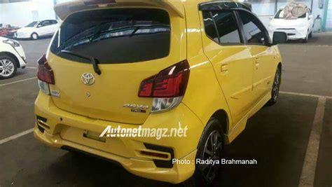 Lu Mobil Belakang Agya Toyota Agya Facelift 2017 Belakang